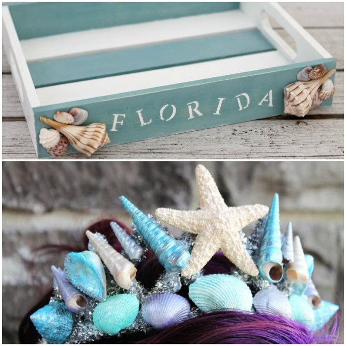 pretty crafts with seashells