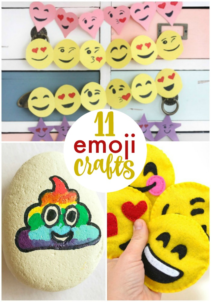 DIY Emoji Crafts for Kids and Adults