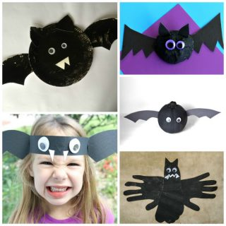 11 Not-So-Spooky Bat Crafts for Halloween