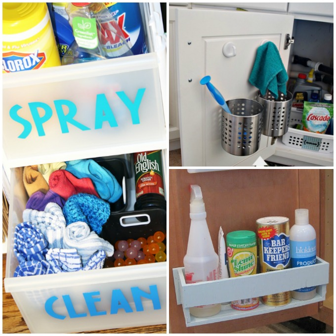 Can't Miss Under Sink Storage Tips