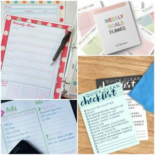 Organization Printables to Stay on Track