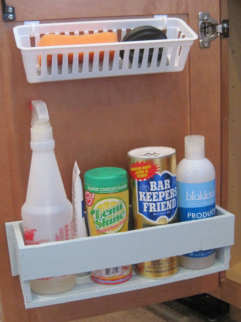 basket cabinet door storage