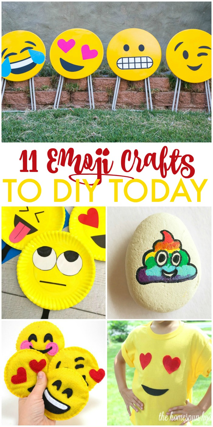 11 DIY Emoji Crafts You'll Want to Make Today