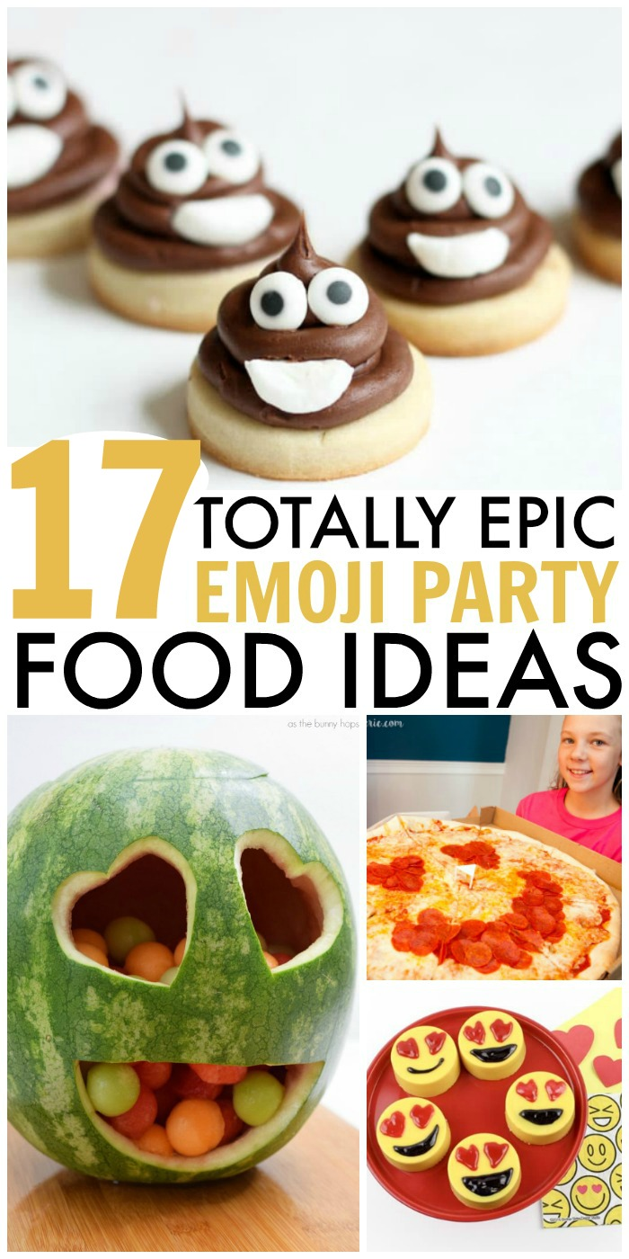 17 Emoji Food Ideas For An Theme Party
