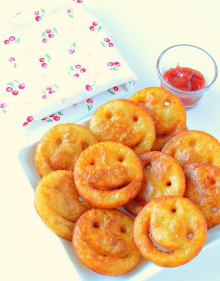 smiley emoji fries