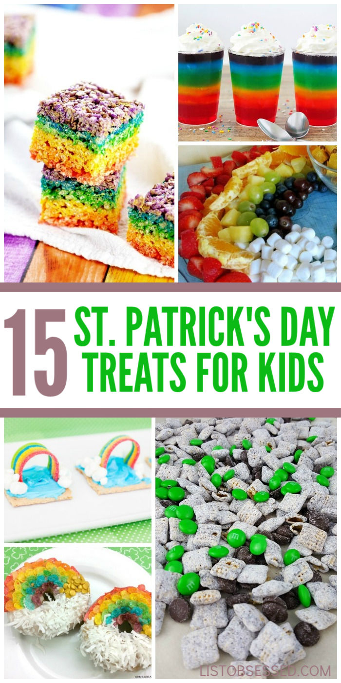 15 Easy and Tasty St. Patrick's Day Treats