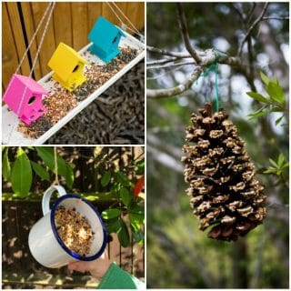 Simple DIY Bird Feeders