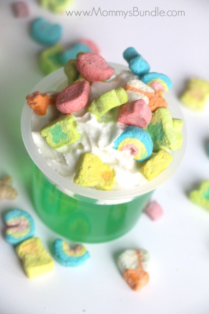 lucky charms jello cups