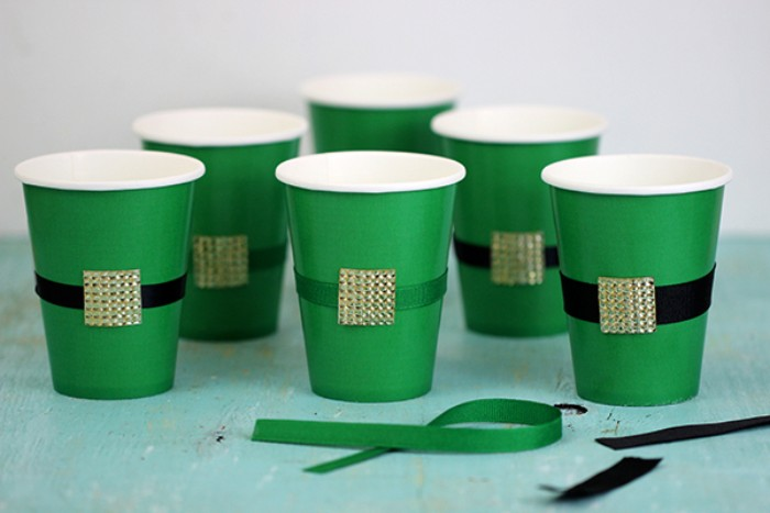 leprechaun belt cups