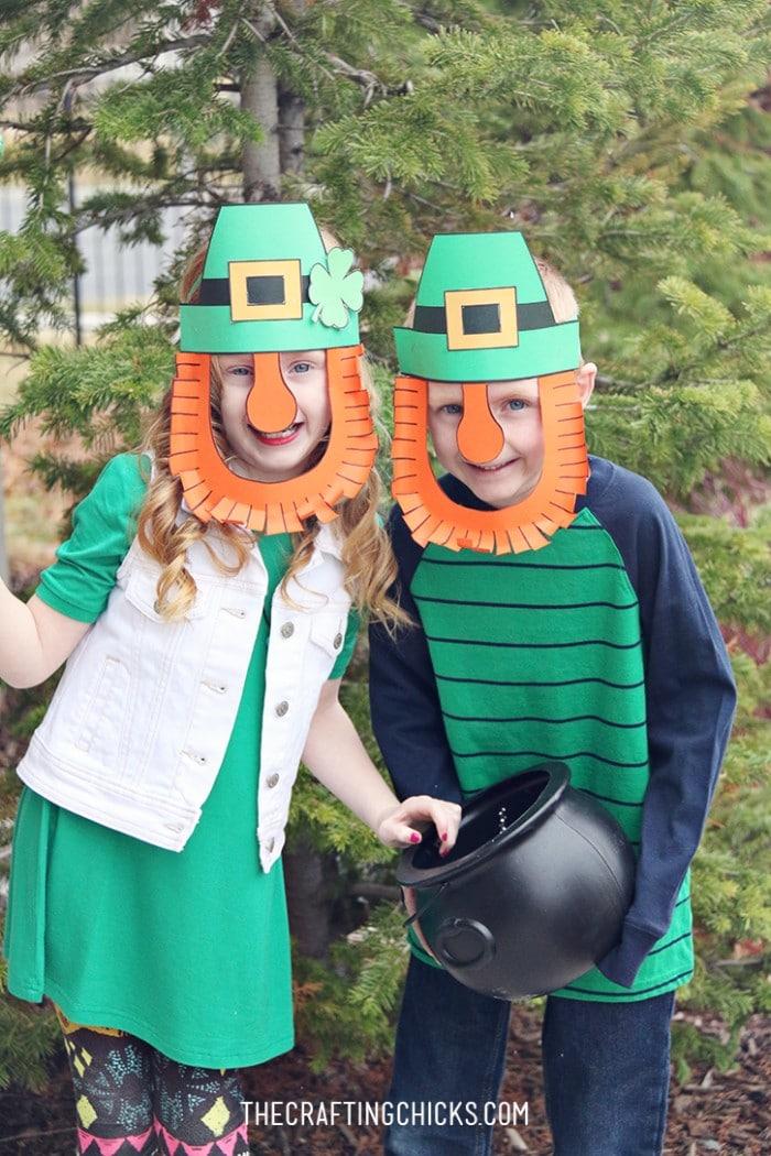 leprechaun masks