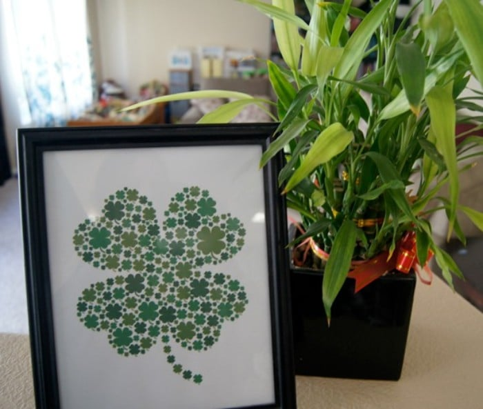 shamrock printable decor