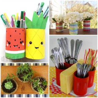 13 Cool Tin Can Ideas to Get Crafty With
