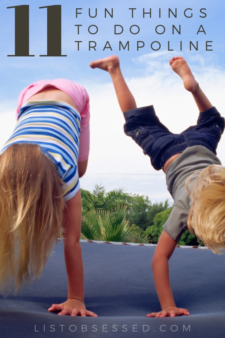 11 Trampoline Games & Activities the Whole Family Will Love