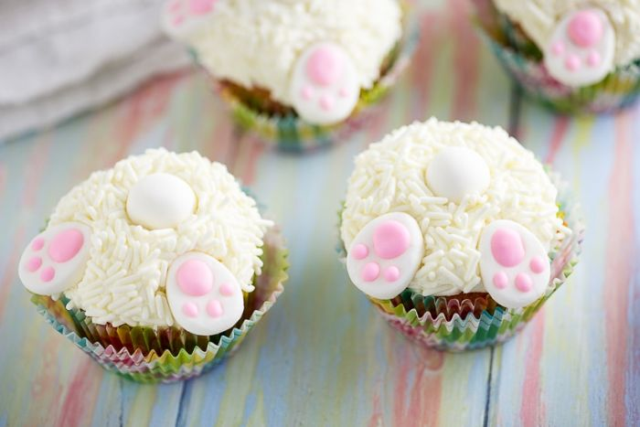 bunny butt cupcakes by The Gracious Wife