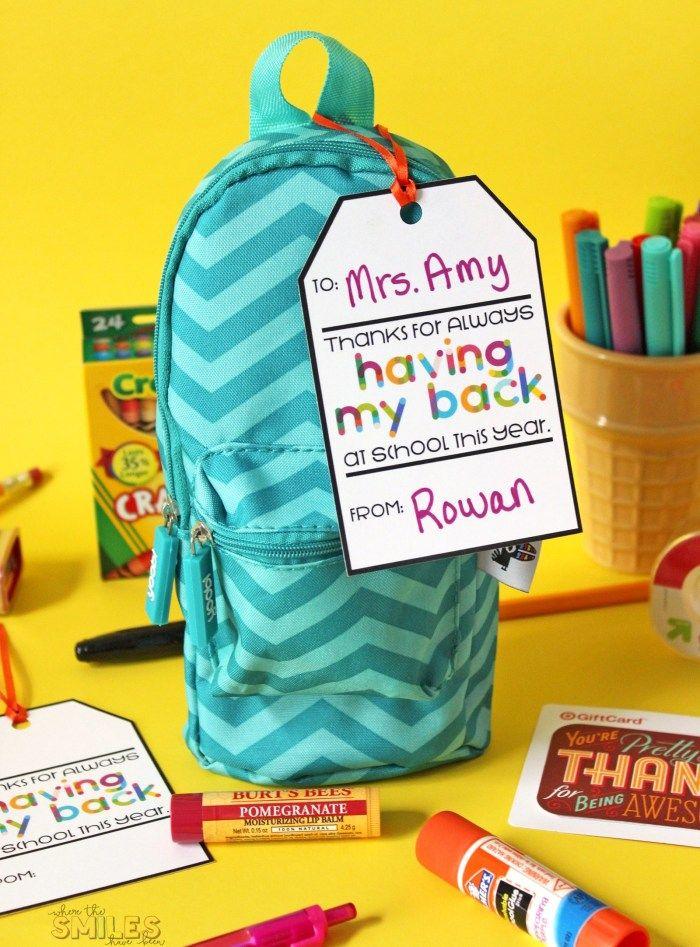 backpack of school supplies