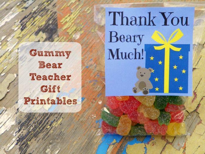 gummy bear gift