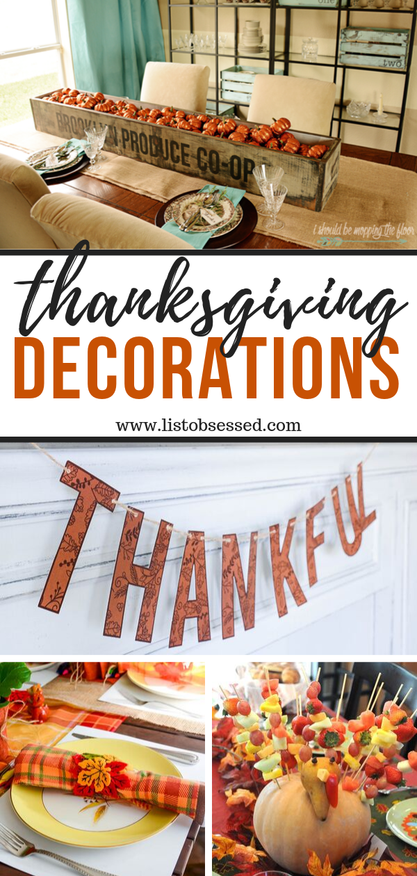13 Thanksgiving Decorations You Can Make to Spruce Up Your Home