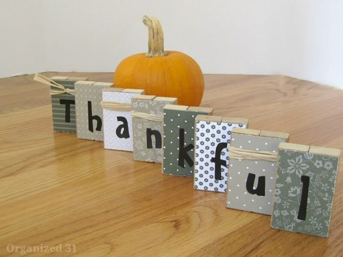thanksgiving blocks