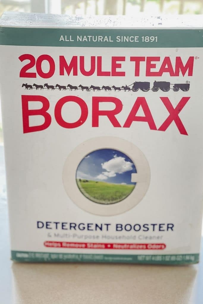 ways to clean with borax