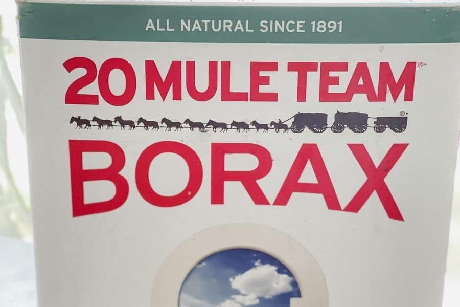 ideas on how to clean with borax